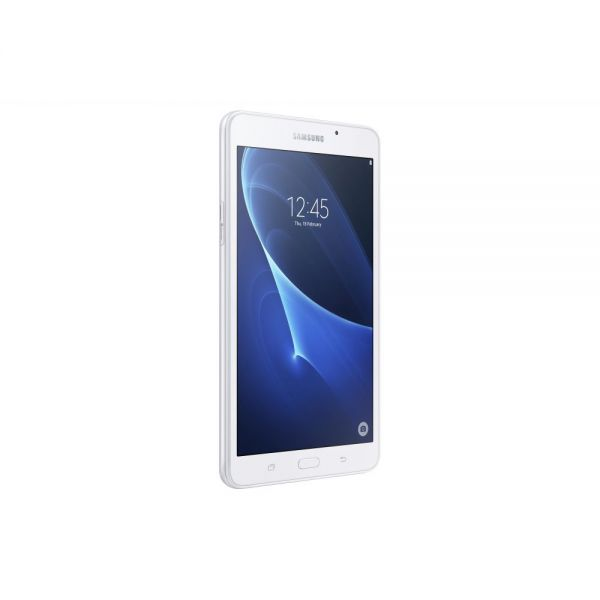 "Samsung Galaxy Tab A SM-T280 8 GB Tablet - 7"" - Plane to Line (PLS) Switching - Wireless LAN Quad-core (4 Core) 1.30 GHz - White"