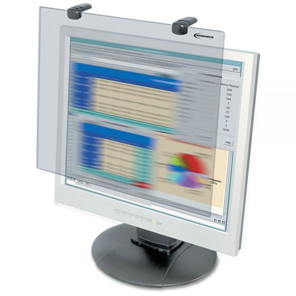 "Innovera Premium Antiglare Blur Privacy Monitor Filter for 15"" LCD"
