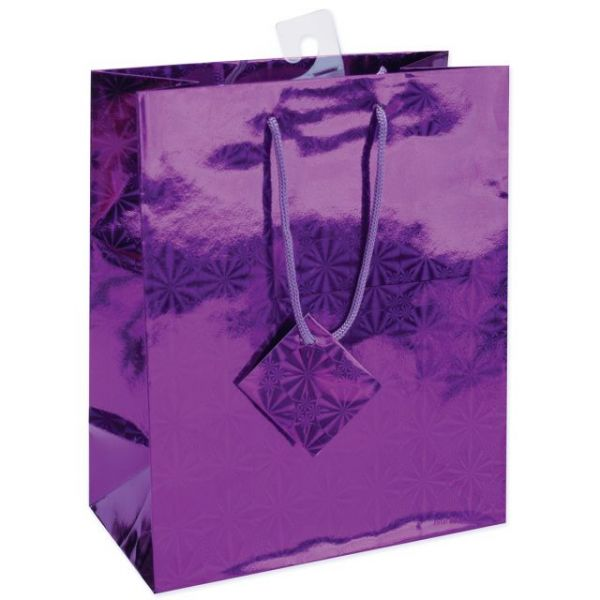 "Holographic Gift Bags 7""X9"""