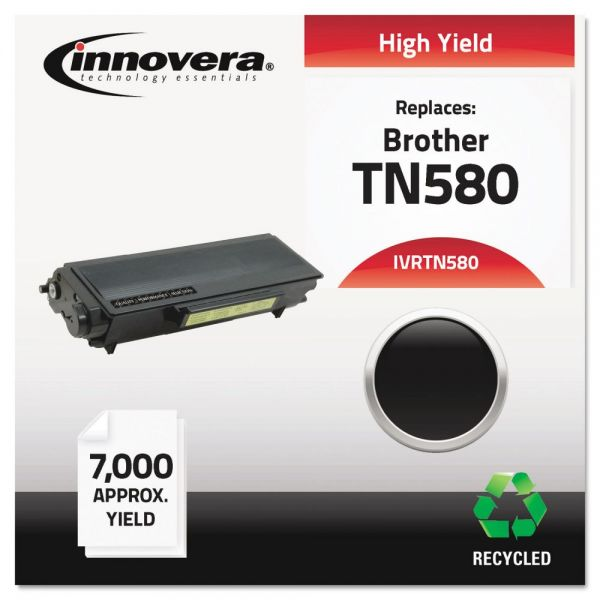 Innovera Remanufactured Brother TN580 High Yield Toner Cartridge