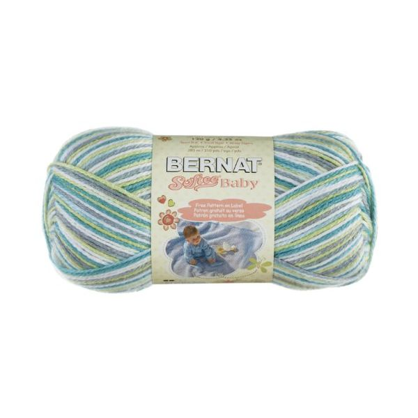 Bernat Softee Baby Yarn - Prince Pebbles