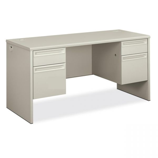 """HON 38000 Series Double Pedestal Credenza with Kneespace   2 Box / 2 File Drawers   60""""W"""