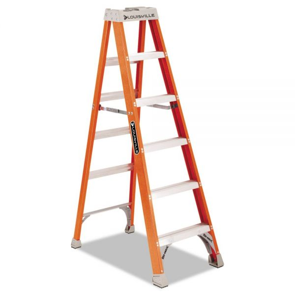 Louisville FS1500 Series Fiberglass Step Ladder