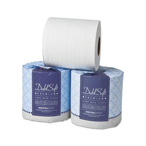 Wausau Paper EcoSoft Universal 1 Ply Toilet Paper