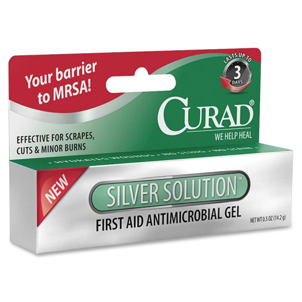 Medline Curad Silver Solution Antimicrobial Gel