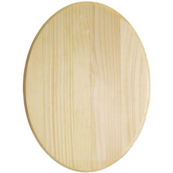 Pine Oval Plaque
