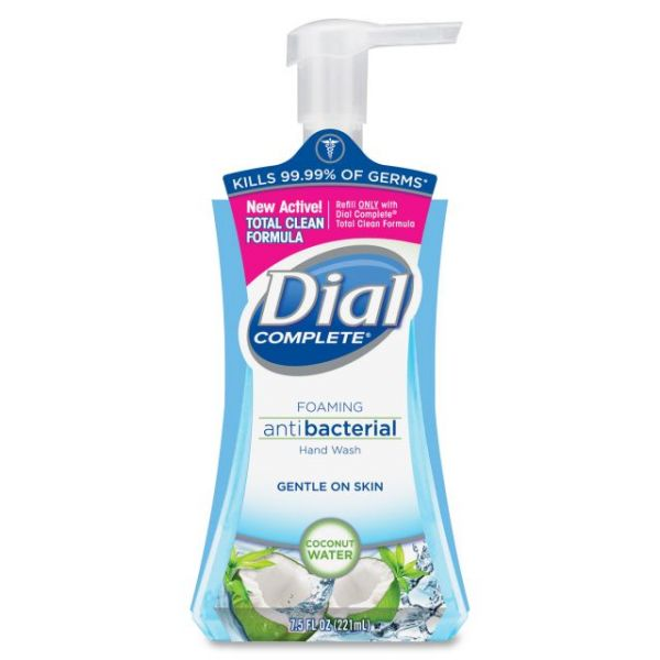 Dial Hypoallergenic Foam Hand Soap