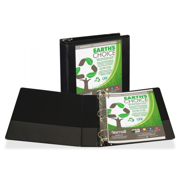 "Samsill Earth's Choice 2"" 3-Ring View Binder"