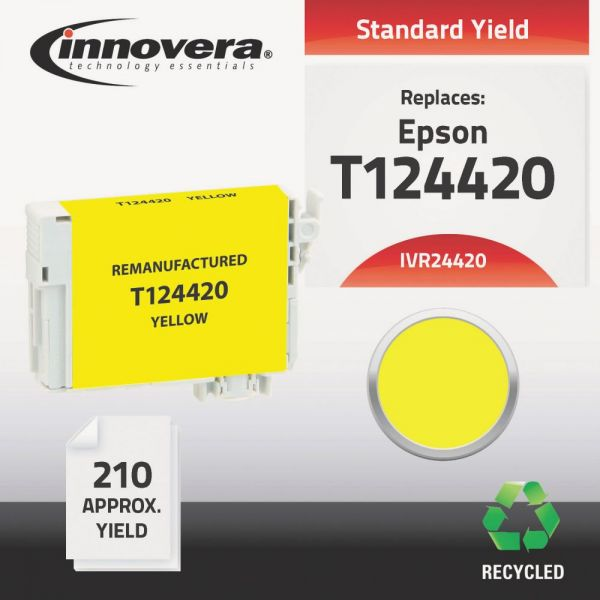 Innovera Remanufactured Epson 124 (T124420) Ink Cartridge