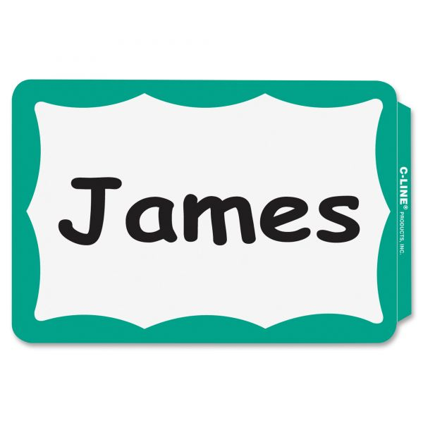 C-Line Self-Adhesive Name Tags