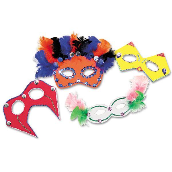 Chenille Kraft Foam Mask  Kit