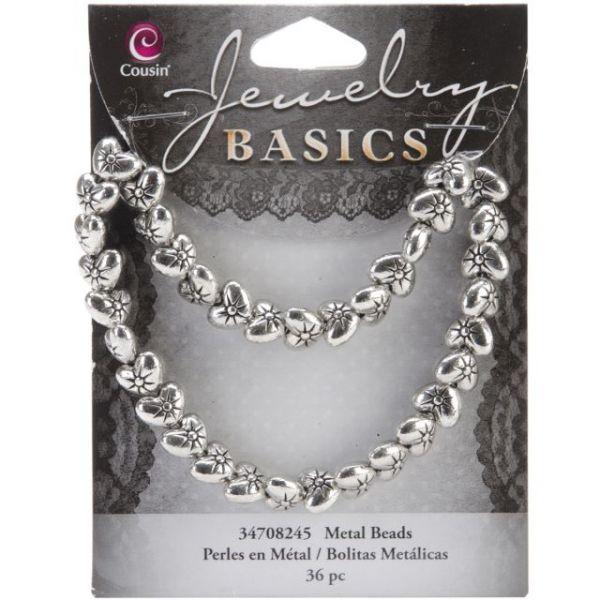 Jewelry Basics Metal Beads 9mm 36/Pkg