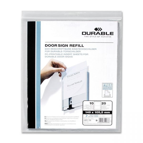Durable Replacement Paper Inserts