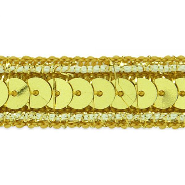 """Zali Sequin W/Sparkle Edge Trim 1/2""""X9'"""
