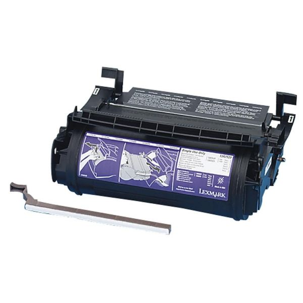 Lexmark 1382920 Black Return Program Toner Cartridge
