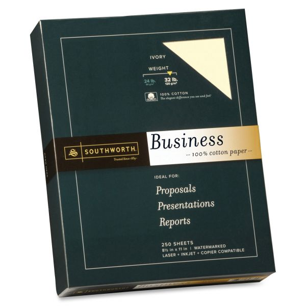 Southworth 100% Cotton Fine Business Paper
