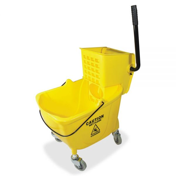 Genuine Joe 35 QT Side Press Mop Bucket Wringer Combo