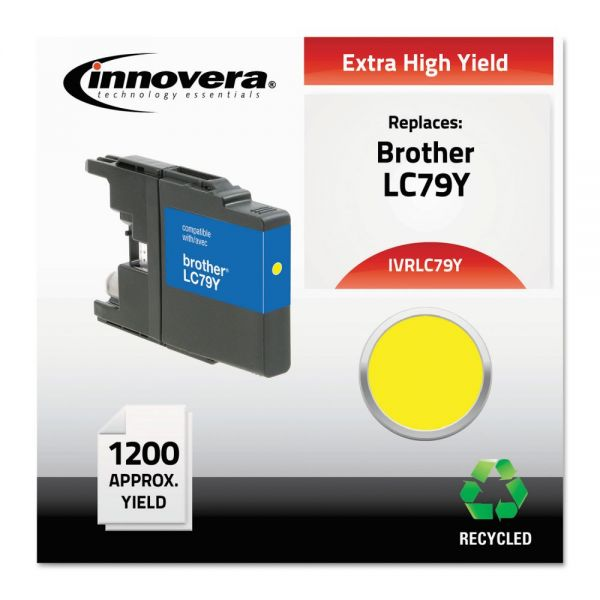 Innovera Remanufactured Brother LC79Y Extra High-Yield Ink Cartridge