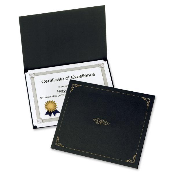 Oxford Black Certificate Holders