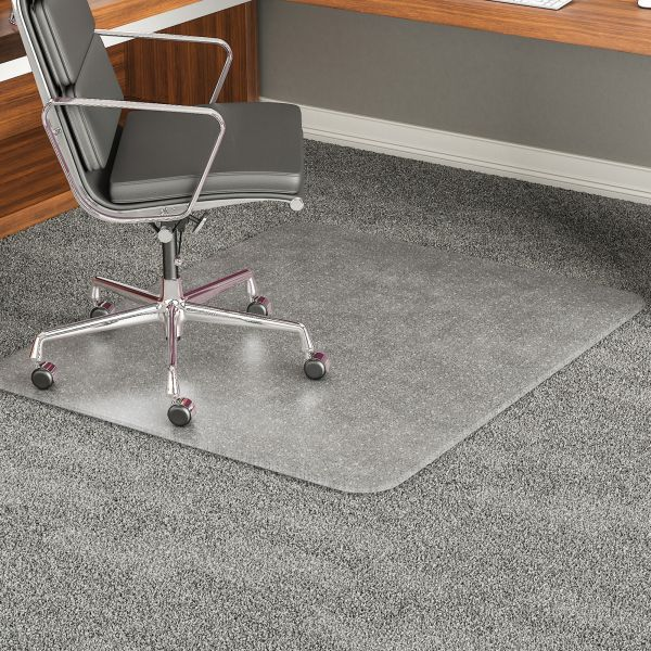 Deflect-o Beveled Edge High Pile Chair Mat