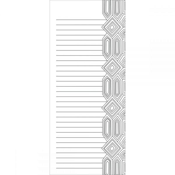 """Coloring Notepad 4""""X9"""" 40 Sheets"""