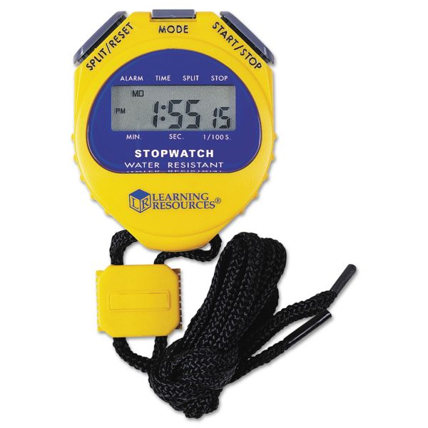 Learning Resources Big Digit Waterproof Stopwatch