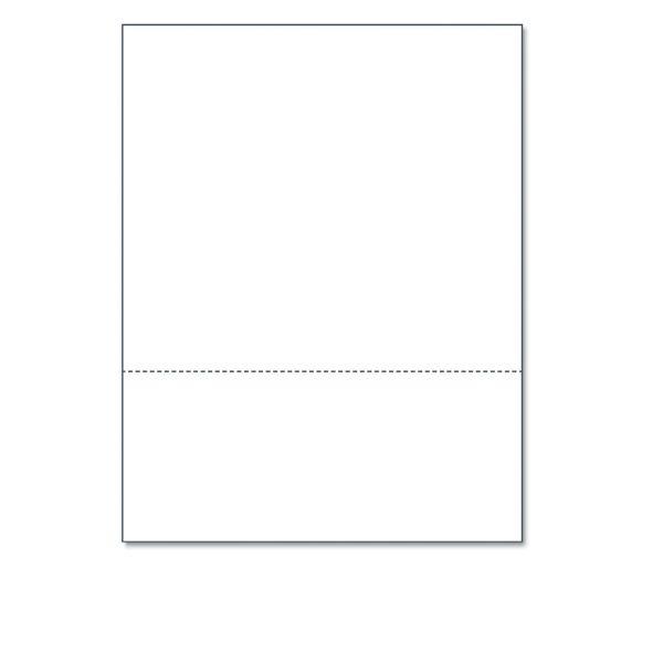 Printworks Professional Perforated Custom Cut Paper