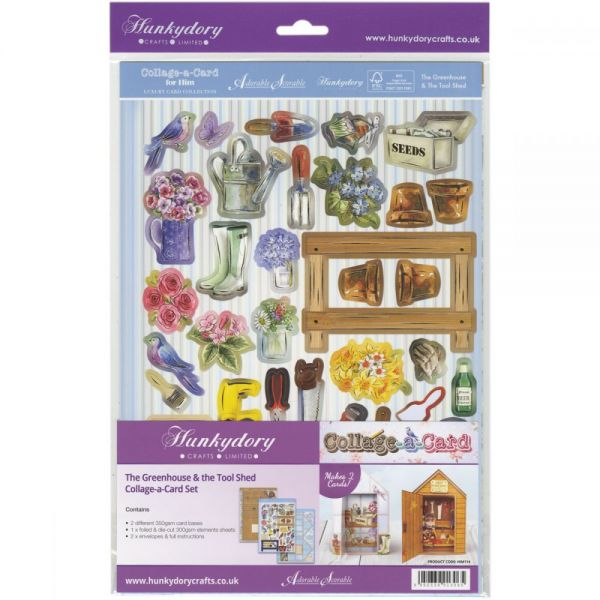 Hunkydory For Him A4 Collage-A-Card Luxury Card Set