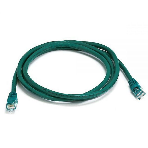 Monoprice Cat5e 24AWG UTP Ethernet Network Patch Cable, 5ft Green