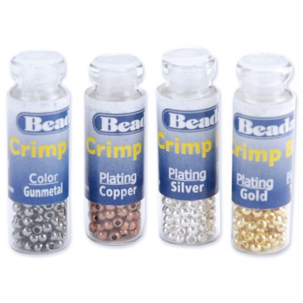 Beadalon Crimp Beads Variety Pack Size #1 600/Pkg