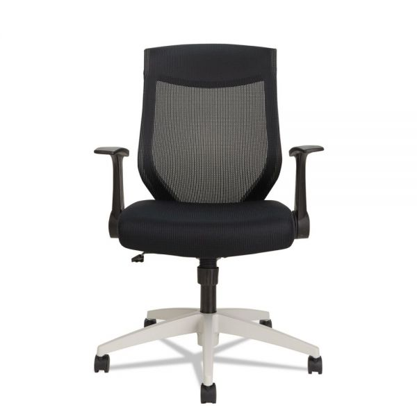 Alera EB-K Series Synchro Mid-Back Mesh Office Chair