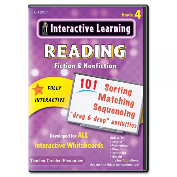Interactive Learning Software: Reading Fiction and Nonfiction