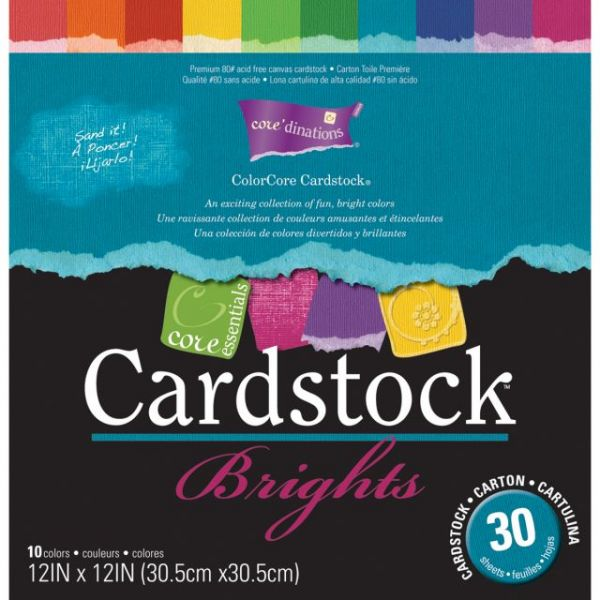 Core'dinations Core Essentials Brights Cardstock Pad