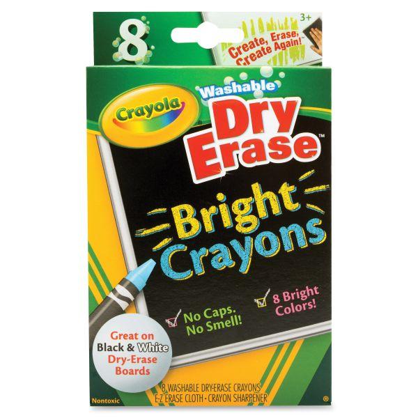 Crayola Washable Dry Erase Crayons Set