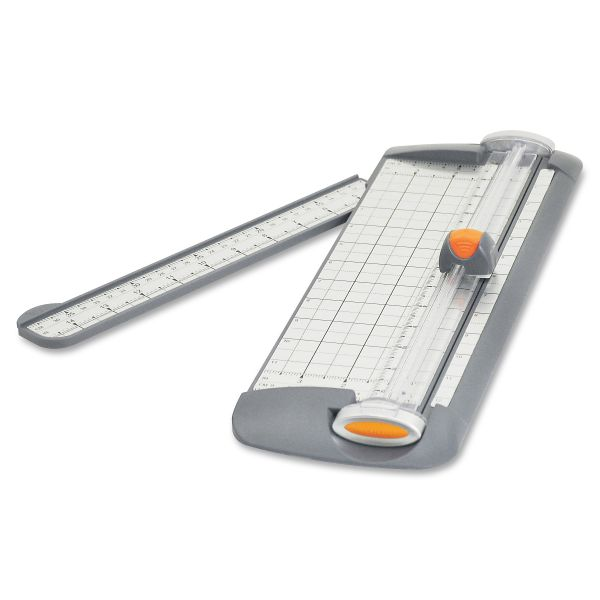 "Westcott TrimAir 12"" Paper Cutter with Microban"