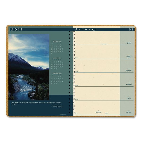 House of Doolittle Landscapes Weekly/Monthly Planner