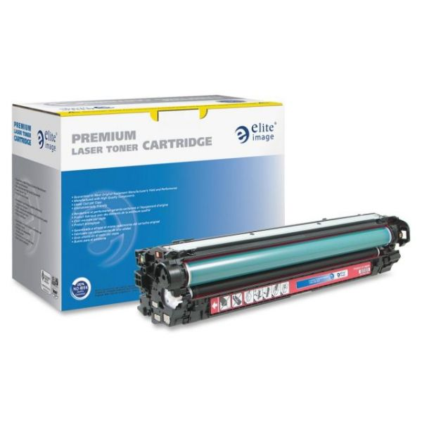 Elite Image Remanufactured HP CE270A Toner Cartridge