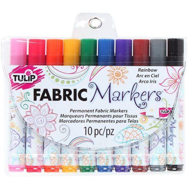 Tulip Fabric Markers 10/Pkg