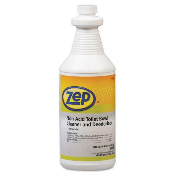 Zep Professional Toilet Bowl Cleaner, Non-Acid, qt, Bottle