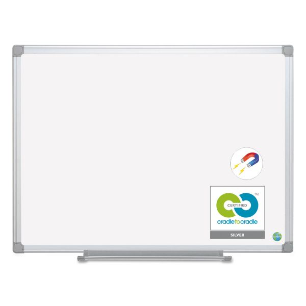 MasterVision 4' x 3' Magnetic Dry Erase Board