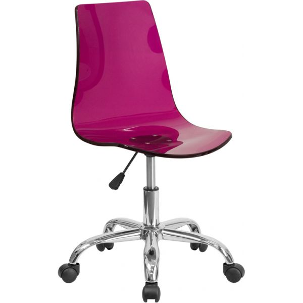 Flash Furniture Contemporary Task Chair with Chrome Base