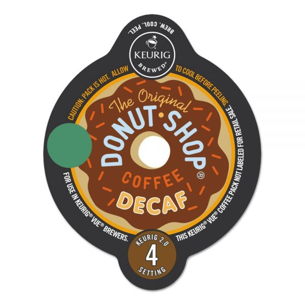 The Original Donut Shop Extra Bold Decaf Coffee Vue Pack