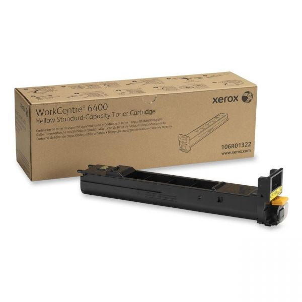 Xerox 106R01322 Yellow Toner Cartridge