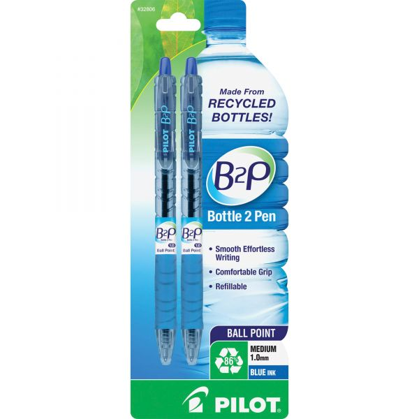 Pilot B2P Retractable Ballpoint Pens