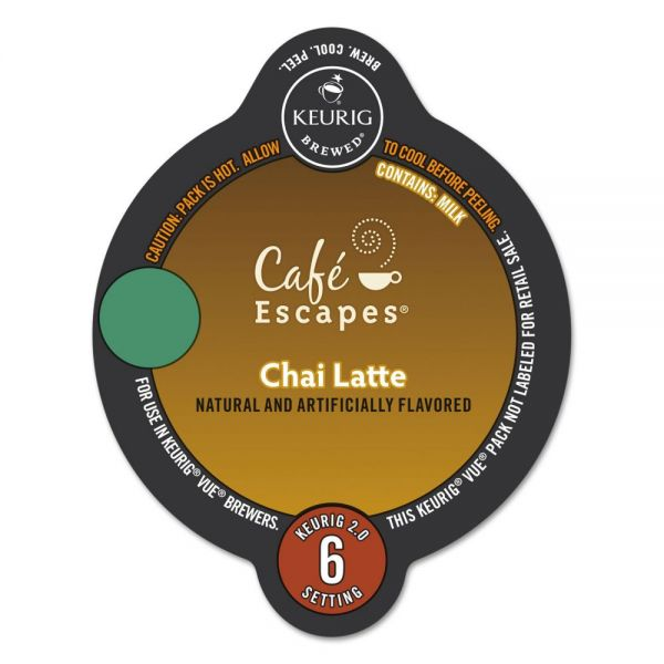 Café Escapes Chai Latte K-Cups
