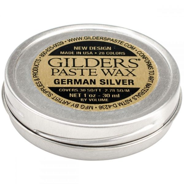 Baroque Art German Silver Gilders Paste