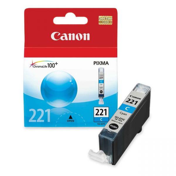 Canon CLI-221C Cyan Ink Cartridge (2947B001)