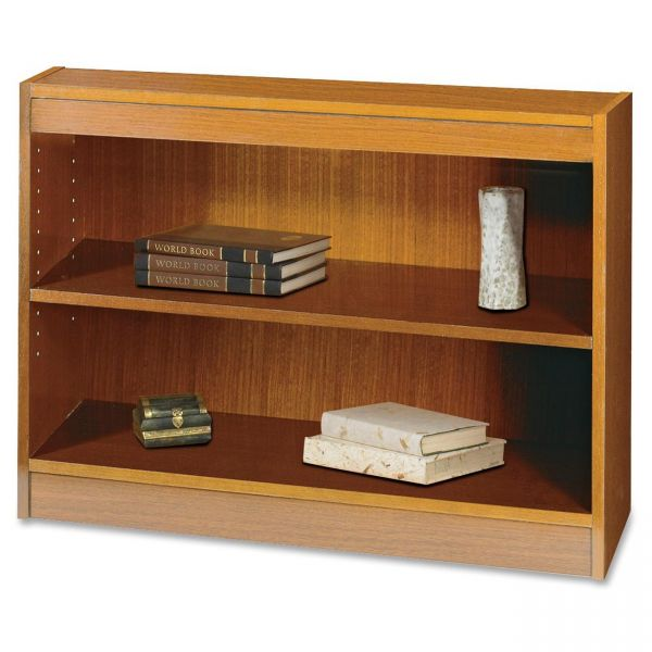 Safco Square-Edge 2-Shelf Bookcase
