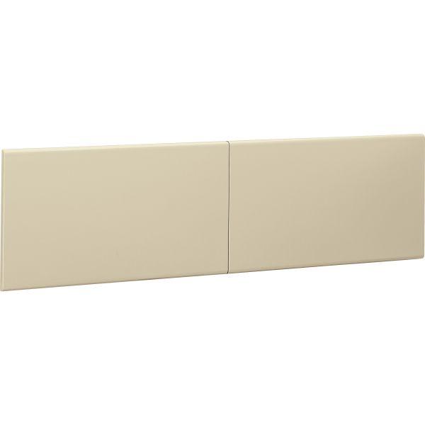 "HON 38000 Series Flipper Doors for 60"" Stack-On Storage"