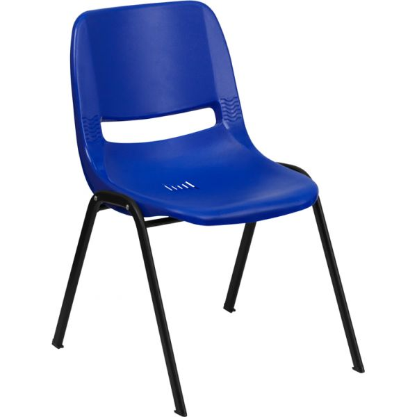 Flash Furniture HERCULES Series Big & Tall Ergonomic Plastic Stacking Chair
